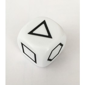Geometric Shape Single Dice