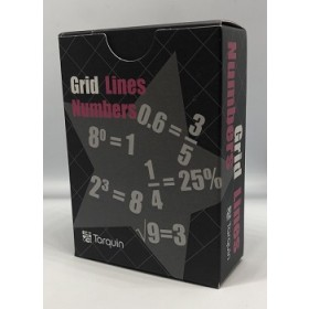 Grid Lines - Numbers Game