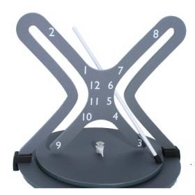 The Hyperbola Clock - White Arm