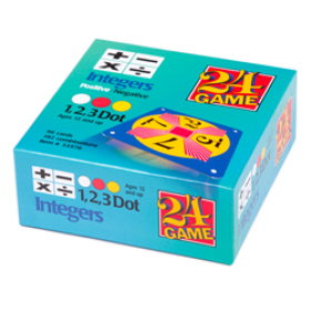 24® Game Integers (96 Card Pack)