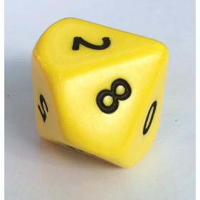 Jumbo 10 Sided Single Dice