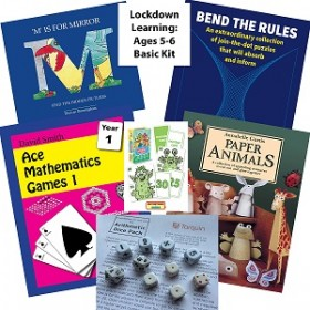 Lockdown Learning Basic Kit - Fun for 5-6 Year Olds