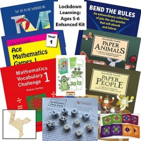 Home Learning Enhanced Kit - Fun for 5-6 Year Olds
