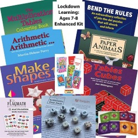 Lockdown Learning Enhanced Kit - Fun for 7-8 Year Olds