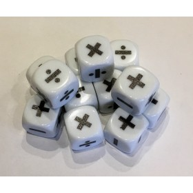 Multiplication and Division Dice (Pack of 10)