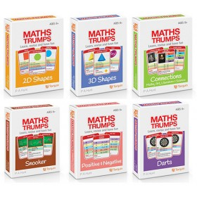 Maths Trumps - Set of 6