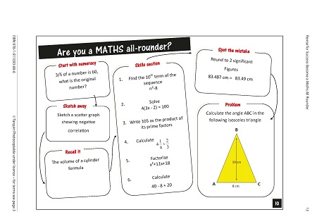 Revise for Success GCSE - Maths All Rounders